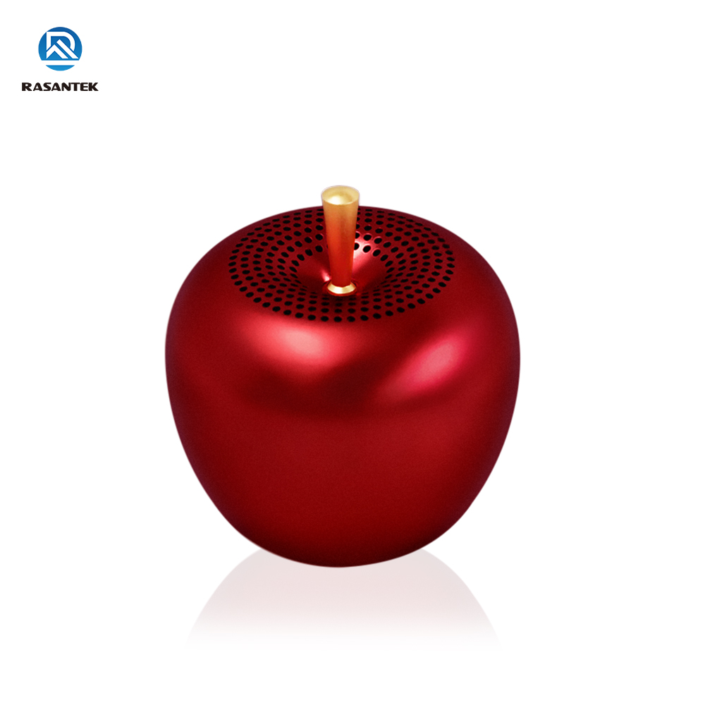 Outdoor Exercise Handheld Essential Rechargeable Battery Portable Little Apple Bluetooth Speaker